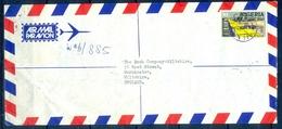 J124- Postal Used Cover. Posted From Nigeria To England. UK.  Ero Bridge. - Nigeria (1961-...)