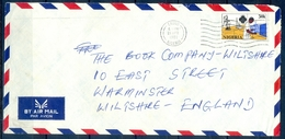 J134- Postal Used Cover. Posted From Nigeria To England. UK. - Nigeria (1961-...)