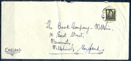J139- Postal Used Cover. Posted From Nigeria To England. UK.  Benin Mask. - Nigeria (1961-...)