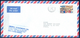 J142- Postal Used Cover. Posted From Nigeria To Italy. Post Office. - Nigeria (1961-...)