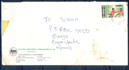 J149- Inland Postal Used Cover From Nigeria. Sydney Olympic 2000. Boxing. - Nigeria (1961-...)
