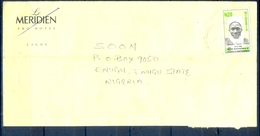 J150- Inland Postal Used Cover From Nigeria. 40th Annvi Of Independence. - Nigeria (1961-...)