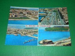Cartolina Il Mare Di Cagliari - Vedute Diverse 1981 - Cagliari