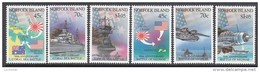 NORFOLK Is. 1992 CORAL SEA BATTLE 6 MNH - Isola Norfolk