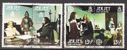 GB - Jersey  (1980)  Mi.Nr.  219 - 222  Gest. / Used  (14fg02)  EUROPA - Jersey