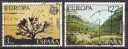 Spanien (1977)  Mi.Nr.  2299 + 2300  Gest. / Used  (14fg09)  EUROPA - 1931-Heute: 2. Rep. - ... Juan Carlos I