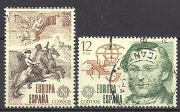 Spanien (1979)  Mi.Nr.  2412 + 2413  Gest. / Used  (14fg11)  EUROPA - 1931-Heute: 2. Rep. - ... Juan Carlos I