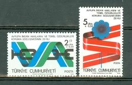 Turkije 1978  Yv & T 2233/2234**, Mi 2463/2464**,  MNH - Nuevos