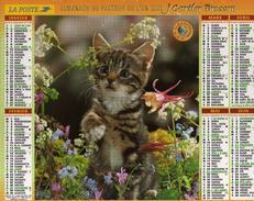 Calendrier Almanach La Poste 2000 CHATONS - Calendriers