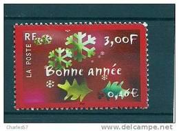 """France:n°3363 ** """"Bonne Année """" . Cote 1,00€ - Neufs"""
