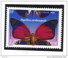 "France 3332  Neuf ** (""Papillon Sardanapale"")  Cote 1,00€ - Neufs"