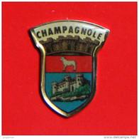 Pin´s - Champagnole - Jura - Blason - Villes