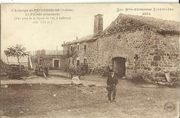 L Auberge De Peyrebeilhe La Facade Principale - France