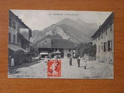 FAVERGES LA PLACE JACQUARD 1398 - Faverges