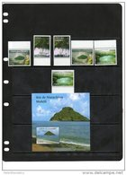 COMORES ,2011,LANDSCAPES, WATERFALLS,LAKES, BEACHES, 6v+S/SHEET, MNH - Islands