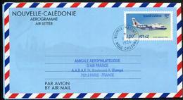 NOUVELLE CALEDONIE - AEROGRAMME N° 14 * * - AVION ATR 42 - OBL DU 11/4/1996 - LUXE - Luftpost