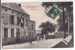 58  MONTSAUCHE   La Gendarmerie - Montsauche Les Settons