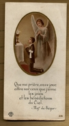 Image Pieuse Holy Card Communion P. Marc Eglise De Saint Renan 25-05-1950 - Ed Boumard JA - Ange - Images Religieuses