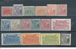 GUYANE  N ° 75:90    * T.B. Mons De 25 Pour Cent - French Guiana (1886-1949)