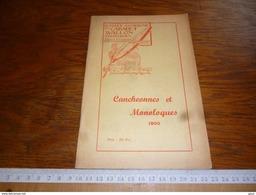 CB2  Wallon Tournaisien Cancheonnes Et Monoloques 1955 - Zonder Classificatie