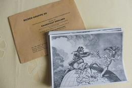 "23 Zigarettenbilder ""Raubstaat England"", Hamburg -Bahrenfeld, Bildergruppe 69, Werk 16 - Collections & Lots"