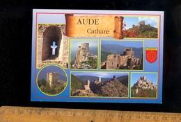 AUDE 11 : Les Châteaux Cathares Termes Aguilar Queribus Arques Lastours Puilaurens Peyrepertuse - France