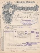 Facture Amer Picon Marseille 1930 - France
