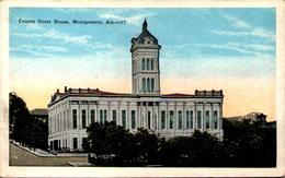 County Court House, Montgomery, Ala. - Montgomery