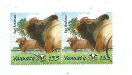 Timbre , VANUATU , BLOC DE 2 TIMBRES - Vanuatu (1980-...)