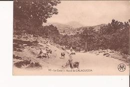 20 Corse Route De Calacuccia Calaccucia Chevres Goats Automobile 217 - Andere Gemeenten