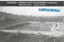Calcio Sport Stadio Cosenza E.morrone Stadium Stade (vedere Descrizione E Scansione) - Calcio