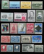 Iceland - 22 Stamps ** - Islande