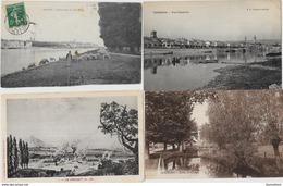 Lot De 100 CPA CPSM Saone Et Loire Déstockage Pour Revendeurs Ou Collectionneurs    N° 48 PORT GRATUIT FRANCE - Postales