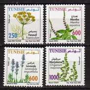 Tunisie. Tunisia.2005 Medicinal Plants. MNH - Tunisia