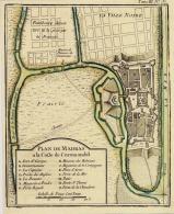 Plan De La Ville De Madras, INDE 32X24 Cm - Autres Collections