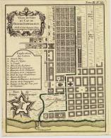 Plan Des Ville Et Fort Du Cap De Bonne Esperance, 33X24 Cm - Autres Collections