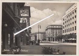 TRIESTE  - VEDUTA  1940 VIA G.CARDUCCI - Trieste