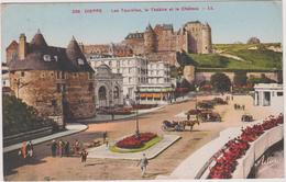 76 Dieppe Les Tourelles Le Theatre Et Le Chateau - Dieppe