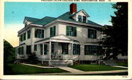 President Calvin Coolidge Homme, Northampton, Mass. - Northampton