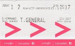 España : Renfe Cercanias => Dos Hermanas - Sevilla ( Santa Justa ) / 20 - 05 - 2017 - Bus
