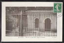 CPA 69 - Lyon, Parc De La Tête D'Or - Cage Au Caïman - VDR - Autres
