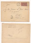 6845 1925 LEONI 10CX2 TARIFFA PARTECIPAZIONI PALERMO X CITTA' - 1900-44 Victor Emmanuel III