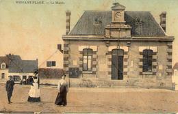 Cpa 62 Wissant Pas De Calais La Mairie Cpa Toile - Wissant