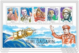 GUINEA BISSAU 2014 ** M/S Yuri Gagarin Youri Gagarine Space Raumfahrt Espace A1424 - Africa