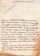 LAS.DEMONTORAN à MELLIER Gérard,trésorier De France Et Général Des Finances De Bretagne.Maire De Nantes.1716. - Autographes