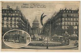 Paris Le Pantheon Et Les Editions Spes 17 Rue Soufflot Librairie Tram - Arrondissement: 05
