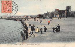 50-CHERBOURG-LA PLACE NAPOLEON-PECHEURS-N°R2043-H/0177 - Cherbourg