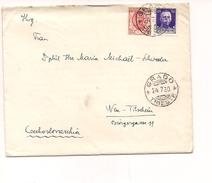 6889 1930 Mista Imperiale E Precedenti GRADO X Cssr Storia Postale Cover - Marcofilía