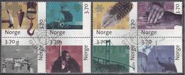 NORUEGA 1997 Nº 1202/10 USADO 1º DIA - Usati