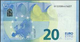 € 20  ITALIA SF S006 B1  DRAGHI  UNC - EURO